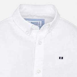 Camicia White Basic Mayoral