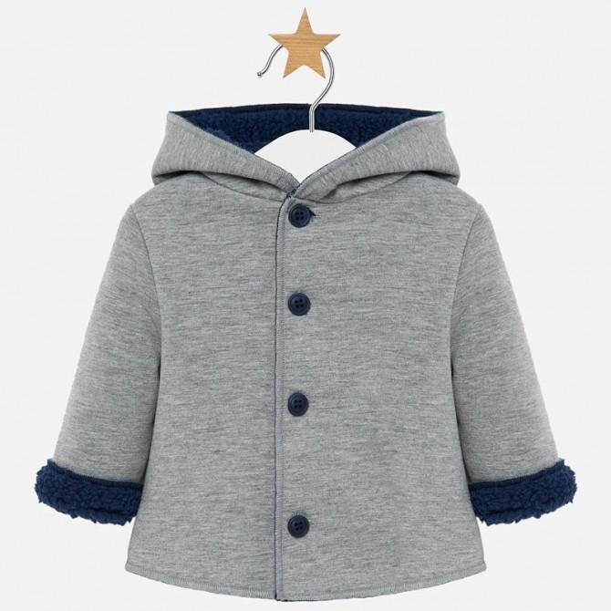 size 40 893cc daad0 montgomery cappotto elegante cappottino grigio mayoral ...
