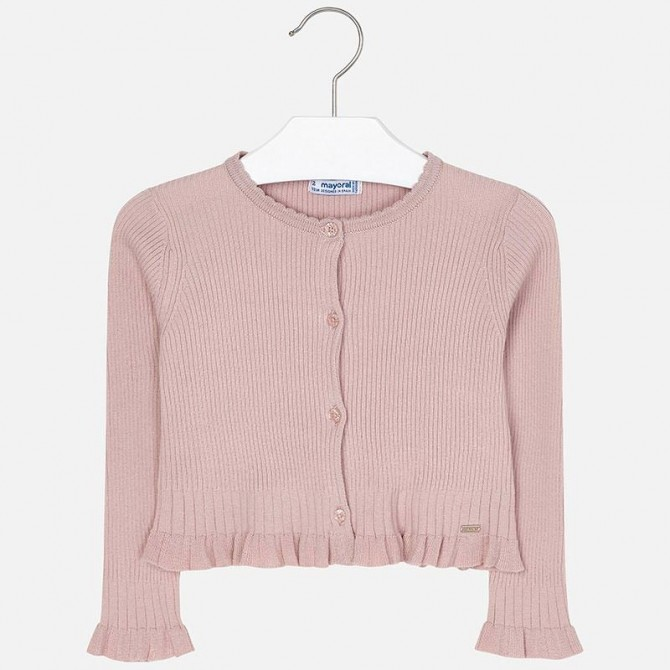 newest a2ee2 9524c cardigan maglioncino giacchina giacca giacchetta rosa cipria ...