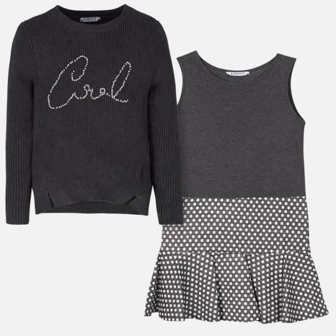 diventa nuovo codici promozionali prezzo di fabbrica vestina vestito vestitino abito abitino combinato maglia maglina ...
