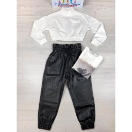 Pantalone Ecopelle  Y-Clù Y16034