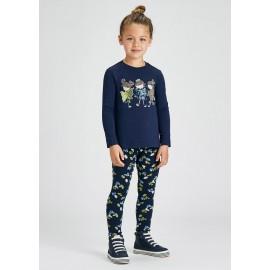 Completo leggings Blu Mayoral 4752