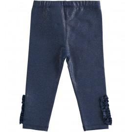 Leggings Glitter Blu Sarabanda D3140