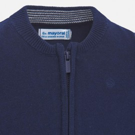 Cardigan Zip Cotone Mayoral 305
