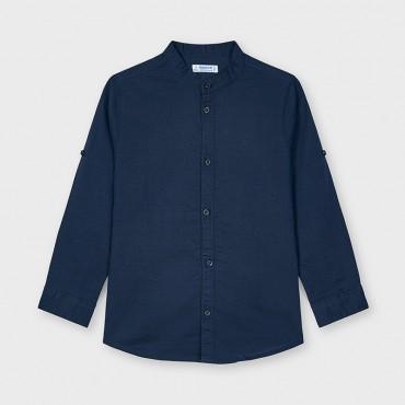 Camicia blu Mayoral 3125