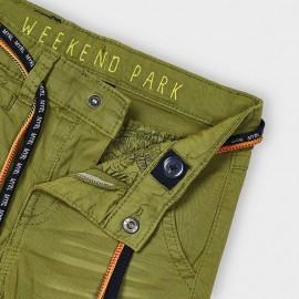 Pantalone laccio verde Mayoral 3569
