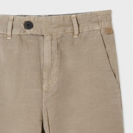Pantalone Lino Sabbia Mayoral 6551