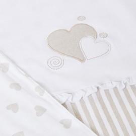 Copertina cuore beige Mayoral 9859