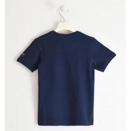Maglietta blu Sarabanda 2632