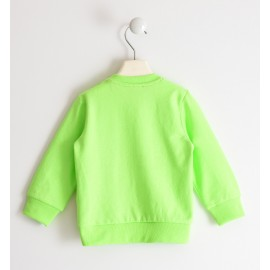 Felpa Verde Fluo Sarabanda D2104