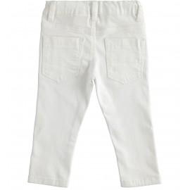 Pantalone Bianco Sarabanda D2121