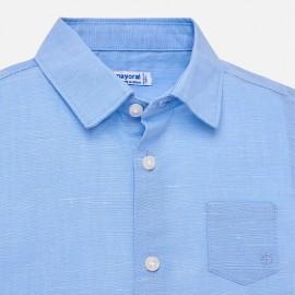 Camicia Azzurra Lino Mayoral