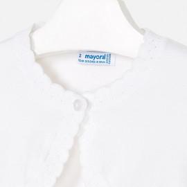Coprispalle bianco b/a Mayoral