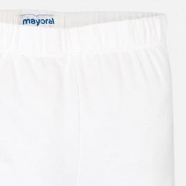 Leggings corto bianco Mayoral