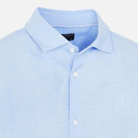 Camicia Lino Azzurra Mayoral