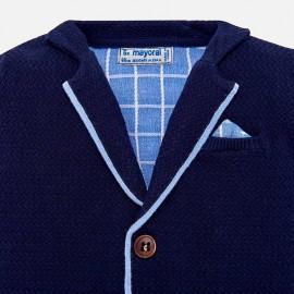 Cardigan Tricot Blu Mayoral