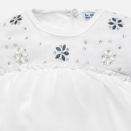 Completo blusa strass Mayoral