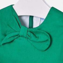 Vestito Fiocco Verde Mayoral