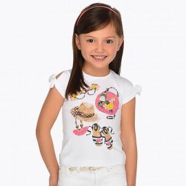 Maglietta accessori bianco Mayoral