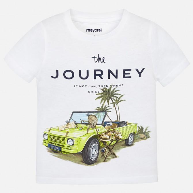 Estate T Shirt Corta Maglietta Cotone Bianca Manica Maglia vmwO80Nn