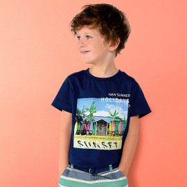 T-shirt Sunset Mayoral