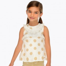 Blusa Bolle Oro Mayoral