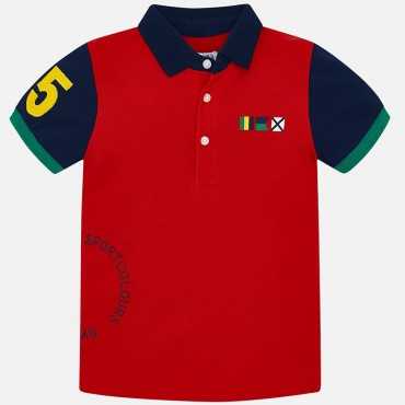 Polo Red Mayoral