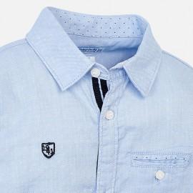 Camicia Azzurra Mayoral