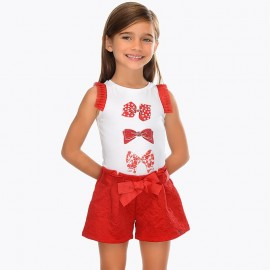 Short Pizzo Rosso Mayoral