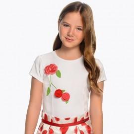 Maglietta fiori Mayoral