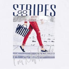 Maglietta Stripes Mayoral