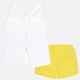 Completo short Giallo Mayoral