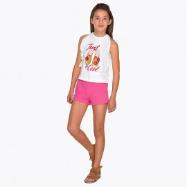 Completo shorts Orchidea Mayoral