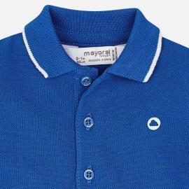 Polo blu royal Mayoral