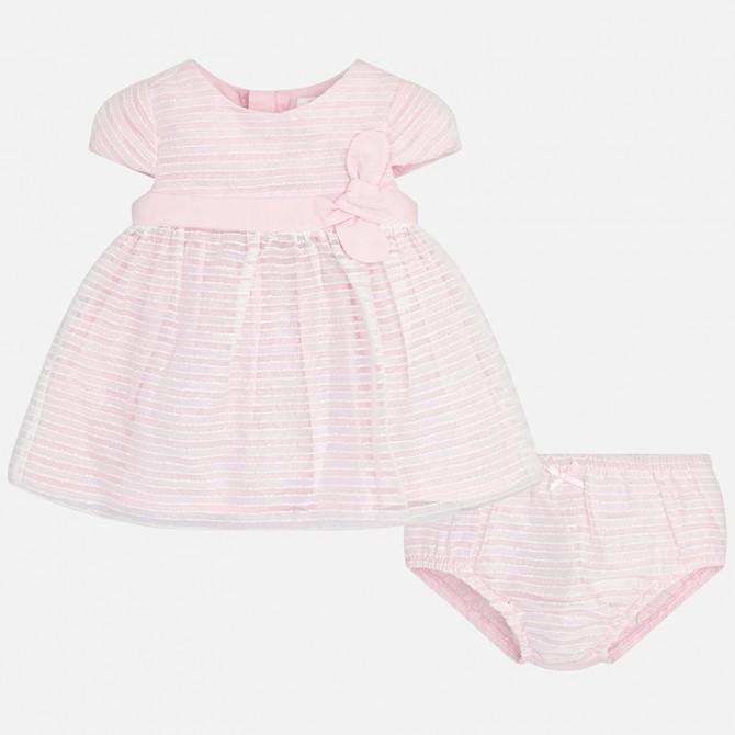 4888d1b3427a vestina vestito vestitino abito abitino rosa mayoral neonata bimba ...