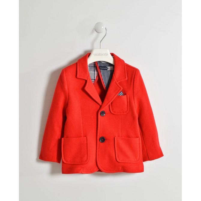 size 40 6fb9e 33217 giacca rossa giacchino rosso elegante cerimonia casual blu ...