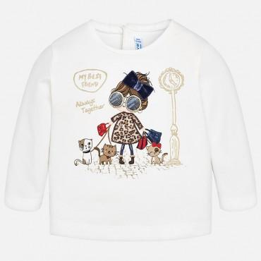 Shirt m/l bimba marino Mayoral