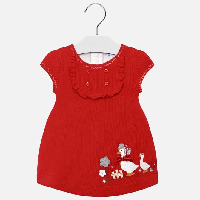 seleziona per originale un'altra possibilità informazioni per vestina maxipull oche rosso rossa mayoral vestito papere ...