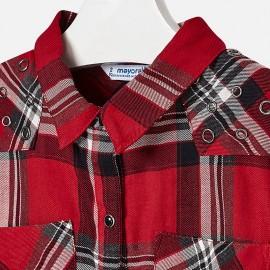 Blusa quadri Rossa Mayoral