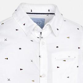 Camicia b/o bianca Mayoral
