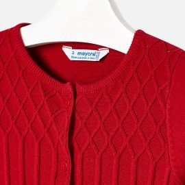 Cardigan tricot Rosso Mayoral