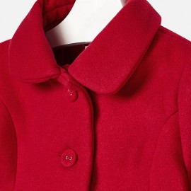 Cappotto in panno rosso Mayoral