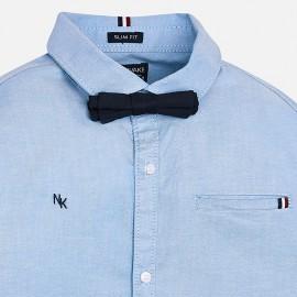 Camicia azzurra papillon Mayoral