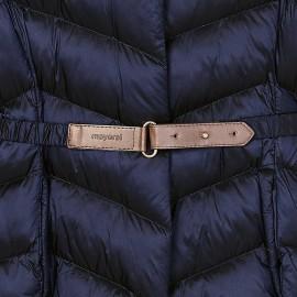 Giaccone blu cintura Mayoral
