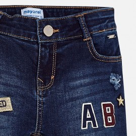 Pantalone jeans fantasia Mayoral