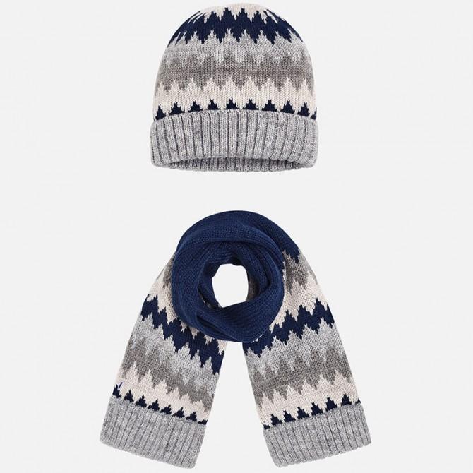 completo cappello sciarpa righe turchesi turchese bimbo bambino ... 1ca2a295a29d